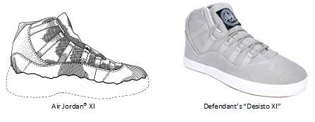 Clothing Design Patent Lawsuit Shoe design patent trade dress