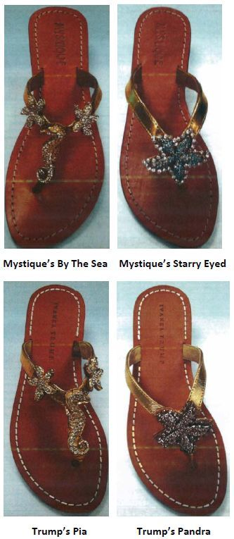 copyright-attorney-infringement-shoes-sandals-ivanka-trump-mystique-lawsuit.jpg
