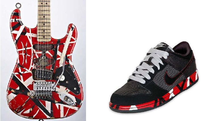 Van Halen s Company Sues Nike For Copyright Infringement — Los ... bf0a9297d
