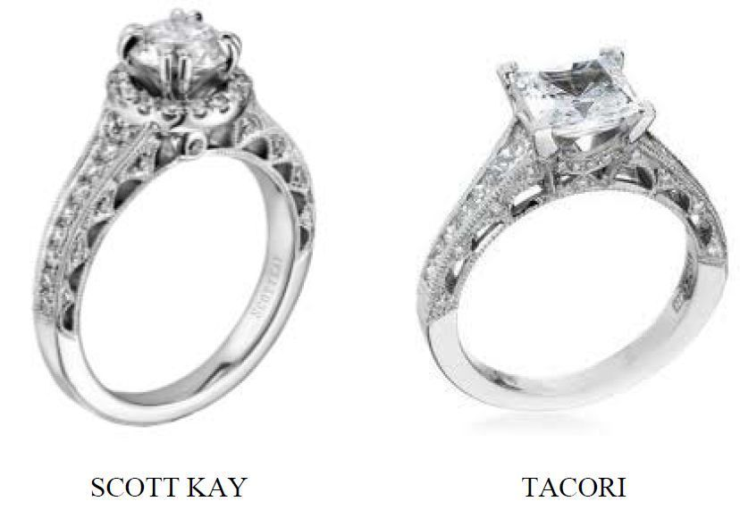 Tacori Loses Crescent Jewelry Design Preliminary Injunction Bid