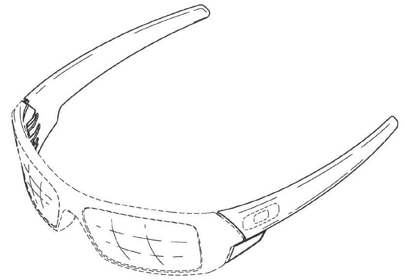 oakley glasses design  design patent protect sunglasses oakley
