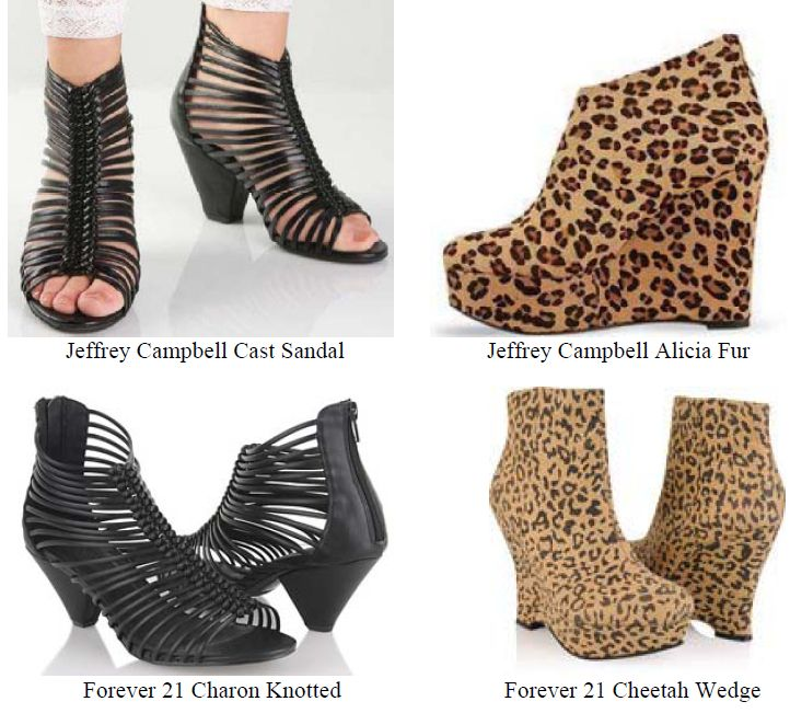 Shoe Designer Jeffrey Campbell Sues Forever 21 For Copying