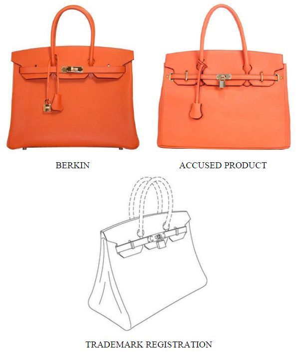 Hermès Sues Birkin Bag Imitators For Trademark and Trade Dress ... e3b4ecf655159