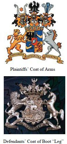 Shakespeare family coat of arms