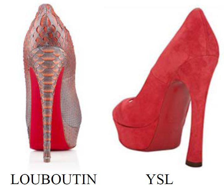 ysl cabas chyc mini - red sole