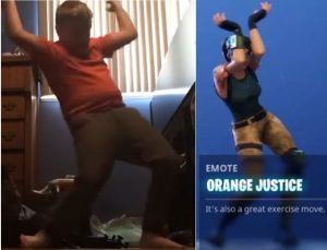 fortnite-copyright-orange-shirt-kid-trademark-lawsuit-300x229